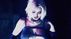 REBEL YELL – softcore porn music video blonde goth big tits